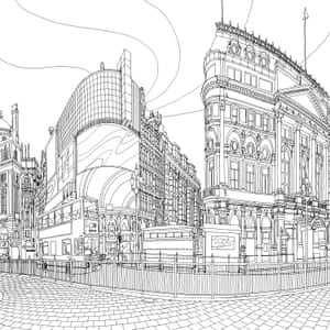 Fantastic Cities The Most Intricate All Ages Colouring Book Yet Cities The Guardian