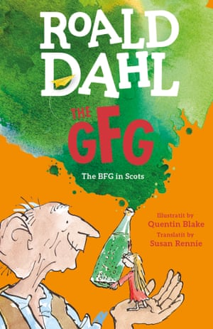 The GFG by Roald Dahl's cover