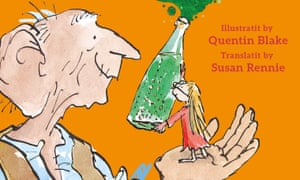 'The GFG disna eat wee lassies' … detail from the translation's cover art.