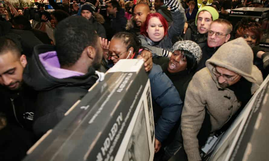 Black Friday 2014: Asda was criticised for letting cameras into one of its superstores to capture last year's chaos.
