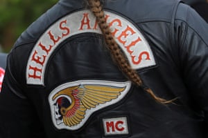 The Hells Angels are taking action against trademark infringement.