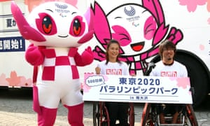 An event to mark 500 years until the 2020 Paralympic Games in Tokyo, Japan.