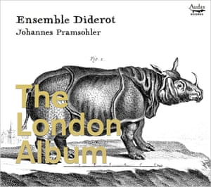 Ensemble Diderot: The London Album artwork