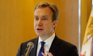 Norway's foreign minister Børge Brende
