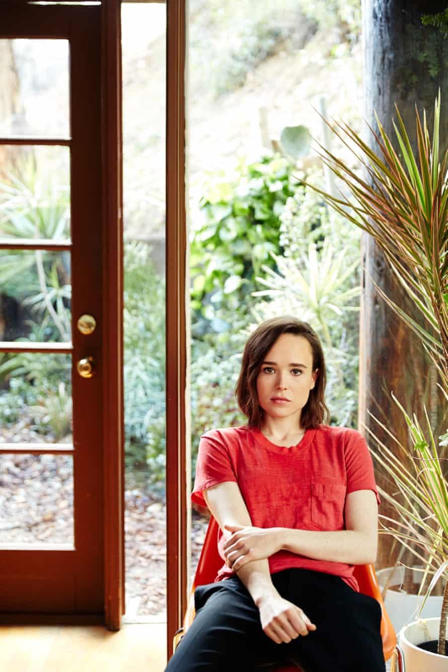 Ellen Page portrait