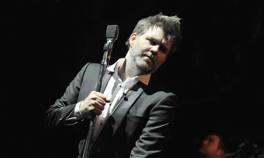 Early retirement: James Murphy of LCD Soundsystem at Madison Square Garden in 2011.