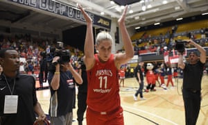 Elena Delle Donne was named to the WNBA All-Star team for the fifth time this season