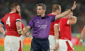 Jérôme Garcès said he was 'honoured and delighted' to be chosen to referee the Rugby World Cup final.