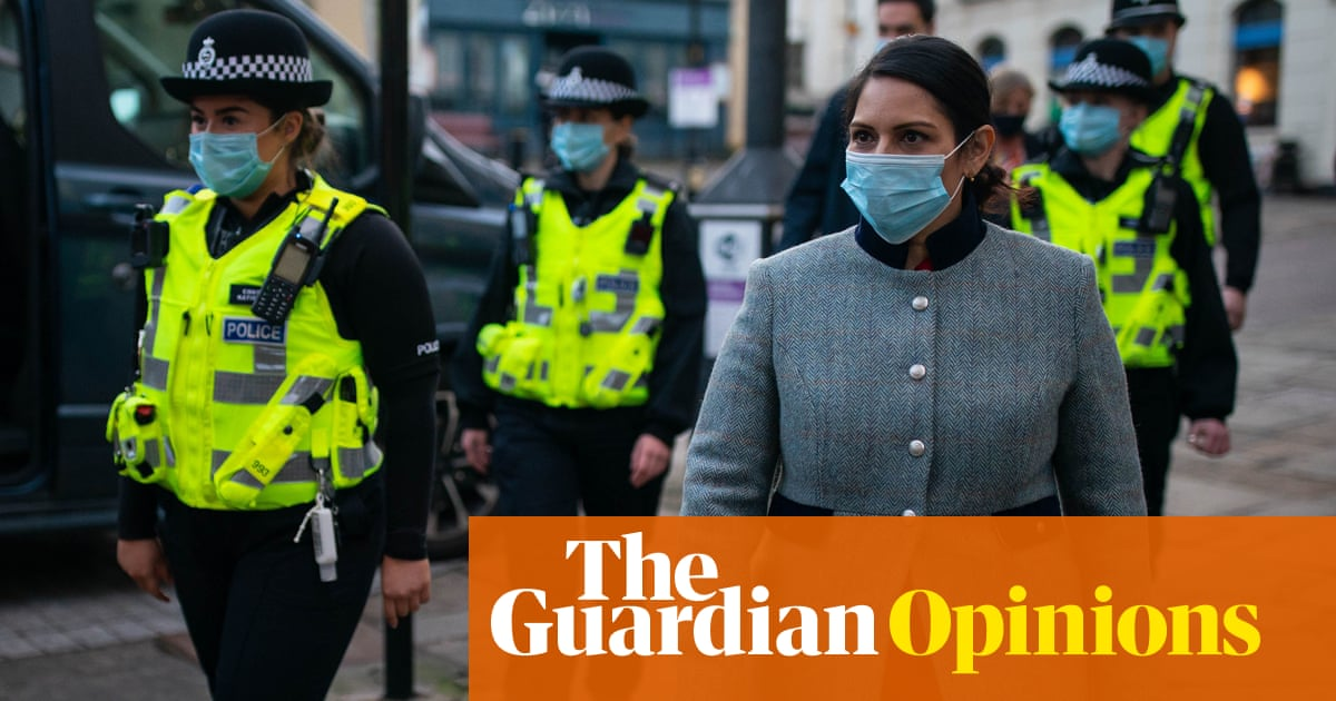 Priti Patel rattles the handcuffs – but the Tories have lost control of law and order