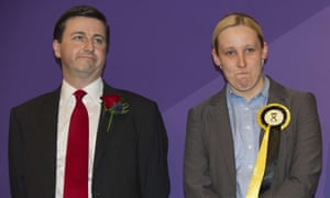 Mhairi Black, right, beat Labour's Douglas Alexander in Paisley and Renfrewshire South at the May general election.