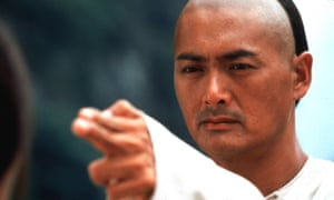 Chow Yun-fat as Li Mu Bai in Crouching Tiger, Hidden Dragon