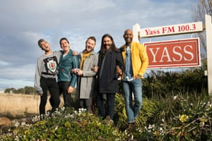The Fab Five from the American TV series Queer Eye visit Yass in rural New South Wales in June