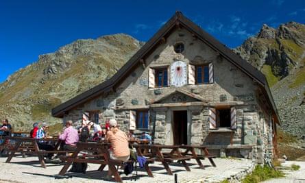 Cabane du Mont Fort, Verbier, Canton of Valais, Switzerland