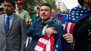 Jason Kessler, in a moment where he's not being told off by his dad.