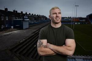 Rugby league prop forward Keegan Hirst