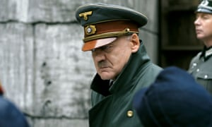Bruno Ganz as Hitler in the film Downfall