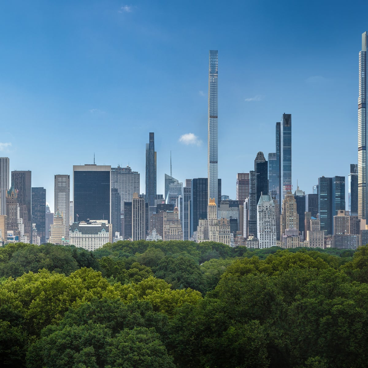 Super Tall Super Skinny Super Expensive The Pencil Towers Of New York S Super Rich Cities The Guardian