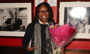 Whoopi Goldberg also received the Boisdale Woman of the Year award during her trip to London.