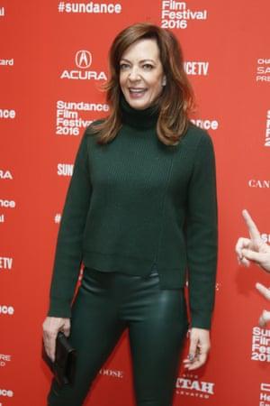 Allison Janney at the Sundance film festival