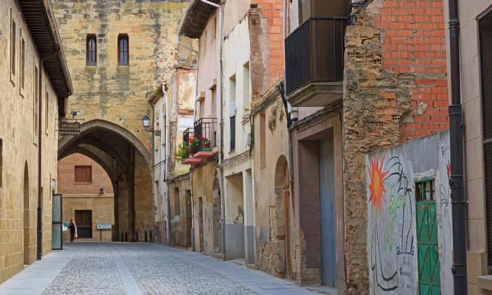 Santo Domingo de la Calzada, La Rioja, Spain, photographed in 2014.