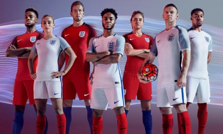 Nike's England kit.