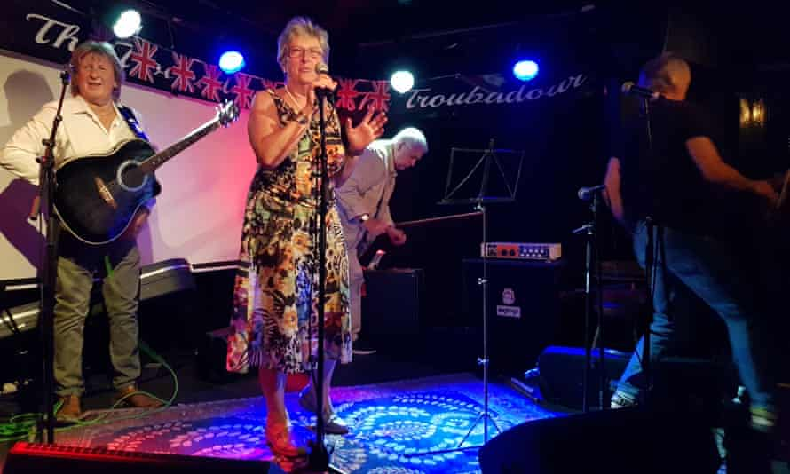 Taking back control … former Labour MP Gisela Stuart at the party, held at the Troubadour, London.