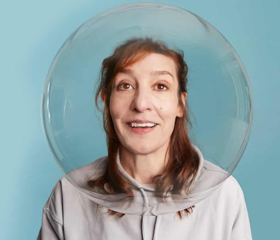 Zoe Williams in meditation pod.