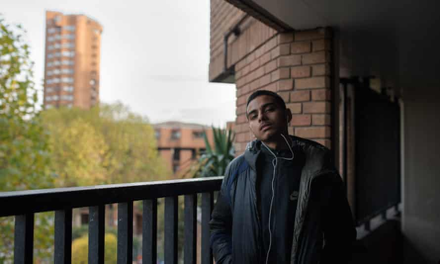 Sam Danny on the World's End estate