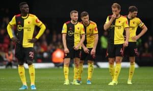 Watford have not a Premier League game since April.