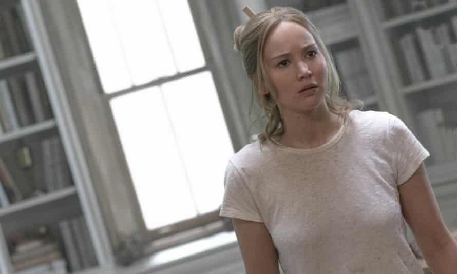 Jennifer Lawrence in Mother!.