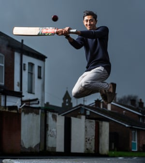 "Flying high: ""You can sense it, this guy is definitely going to be a star in all forms,""  says Virat Kohli, India captain, of Haseeb Hameed."
