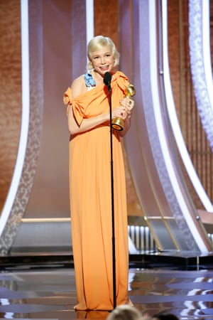 Michelle Williams won best actress in a limited series for Fosse/Verdon