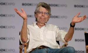 Author Stephen King speaks at Book Expo America, June 1, 2017, in New York.