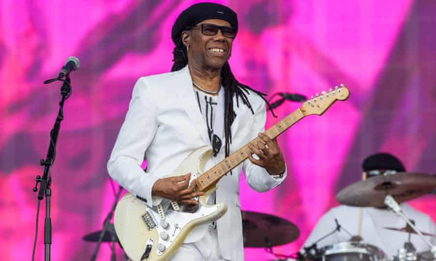 Nile Rogers of Chic at British Summer Time 2015, Hyde Park, London.
