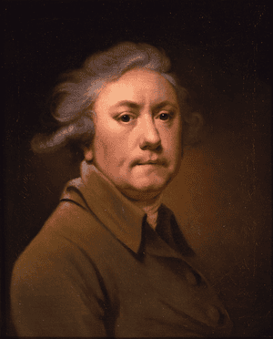 The Joseph Wright of Derby self-portrait, which had been wrongly catalogued.