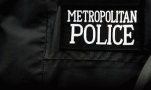 Metropolitan police badge