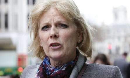 Conservative MP Anna Soubry, who was allegedly sent a threatening tweet calling for someone to 'Jo Cox' her.