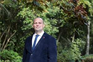 Mark Jarman-Howe, chief executive of St Helena Hospice