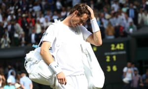 Andy Murray after defeat by Sam Querrey.
