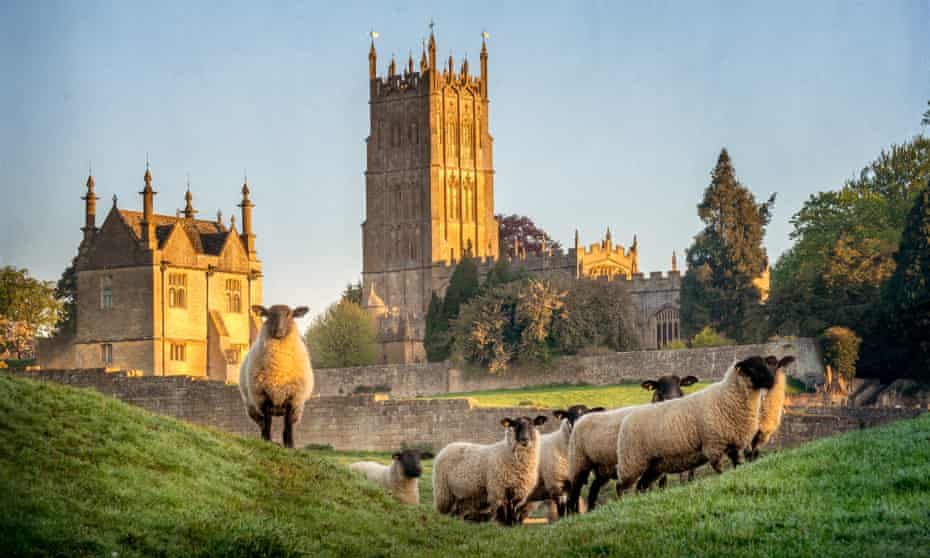 The medieval wool town of Chipping Campden is a lovely day's walk from Winchcombe, along the Cotswold Way.