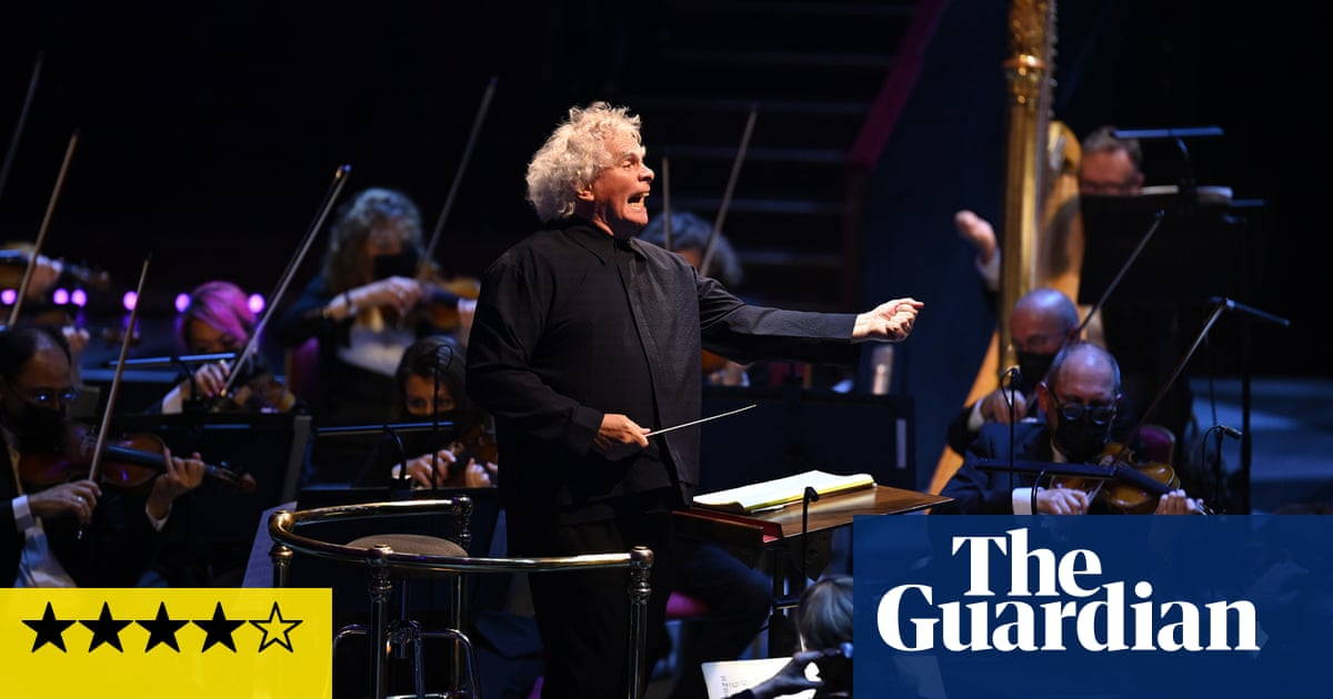 LSO/Rattle review – all-Stravinsky programme delights near capacity crowd