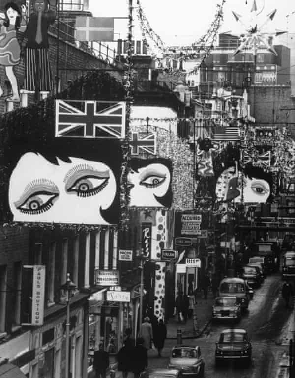 London's Carnaby Street, 1967