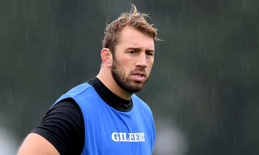Chris Robshaw during Barbarians training on Wednesday