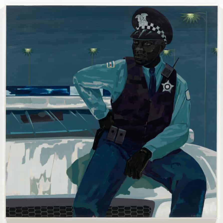 Kerry James Marshall - Untitled (policeman)