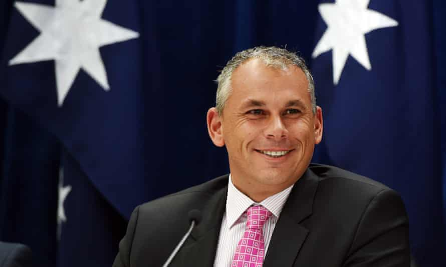 Former Northern Territory chief minister Adam Giles