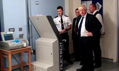'A Kinder egg?': Boris Johnson shocked to hear prisoners' smuggling techniques – video