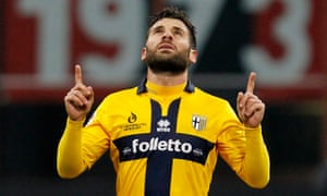 Parma has been sold twice this season and the players, like Antonio Nocerino, have not been paid in months.