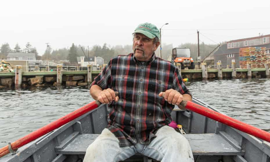 'I'm absolutely voting because of issues of climate change,' said lobsterman Clayton Philbook.