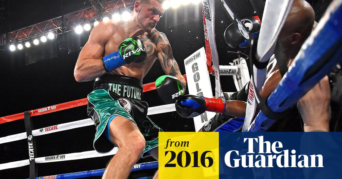 Bernard Hopkins knocked out of ring in final fight of 28-year career