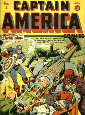 Captain America No 3, May 1941- text in this was Stan Lee's first published comic work with cover artwork by Alex Schomburg